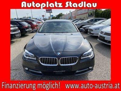 gebraucht BMW 520 d Österreich-Paket Aut. LED-SCHEINWERFER LEDER NAV