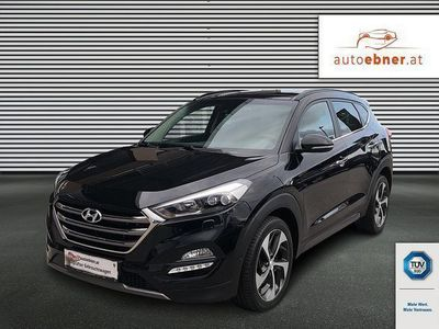 gebraucht Hyundai Tucson 2,0 CRDI 4WD Platin Aut.