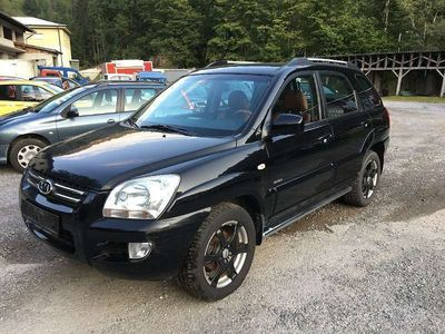 gebraucht Kia Sportage Active Black 2,0 CRDi 4WD SUV / Geländewagen,