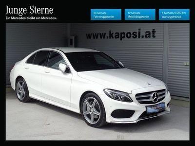 gebraucht Mercedes C220 C-Klassed 4MATIC AMG Line Aut. Limousine,