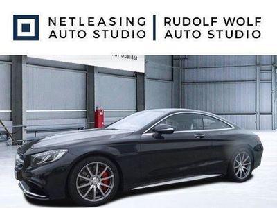 brugt Mercedes S63 AMG AMG Coupé 4M MagicSky+360°+HUD+Nachtsicht LED