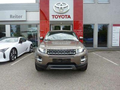 gebraucht Land Rover Range Rover evoque 2,2 *XENON*NAVI*T-LEDER* SUV / Geländewagen
