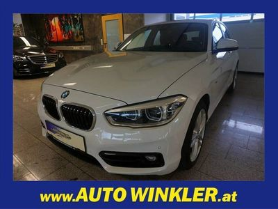 gebraucht BMW 118 d xDrive Sport Line Navi/Xenon