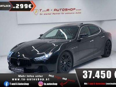 gebraucht Maserati Ghibli Diesel Aut. *Navi*Schiebedach*Leder*20Zoll*