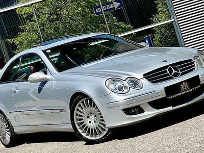 gebraucht Mercedes CLK320 CLK-KlasseAvantgarde CDI Aut. ** GARANTIE BIS ZU 24 Mon.** Sportwagen / Coupé
