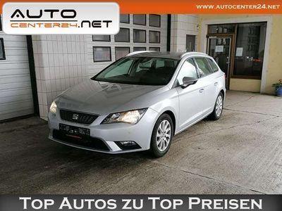 gebraucht Seat Leon Style 1,6 TDI-Eco.-NAVI-PDC-SHZ-Multifl.-Bluetooth