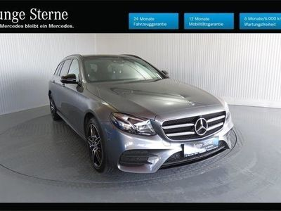 used Mercedes E220 4MATIC T-Modell AMG-Line