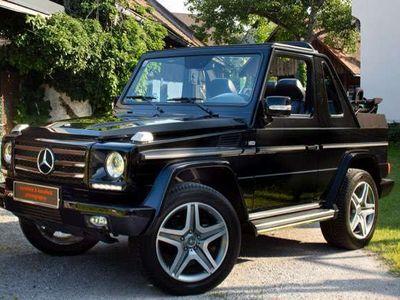 gebraucht Mercedes G500 Cabrio