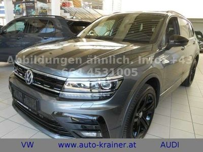 "gebraucht VW Tiguan Allspace Highline TDI 4MOTION ""R-Line"" 7-Sitze"