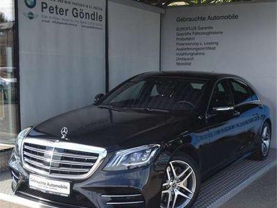 gebraucht Mercedes S400 d lang 4MATIC