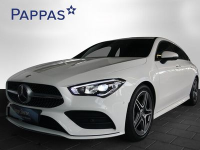 gebraucht Mercedes CLA200 Shooting Brake d Aut. *AMG-Line*AHK*LED*Navi*Keyless*