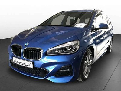 gebraucht BMW 220 2er-Reihe d xDrive M PAKET NAVI KEYLESS LED LEDER INDIVID Kombi / Family Van