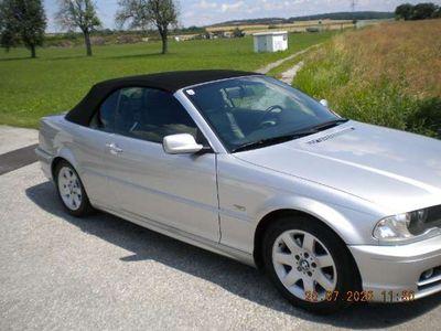 gebraucht BMW 325 Cabriolet 3er-Reihe Cabrio E46 Österreich-Paket