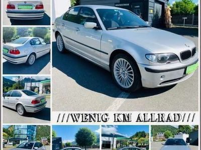 gebraucht BMW 330 3er-Reihe Allrad Diesel(E46) Aut. PICKERL 06/2022