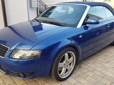 gebraucht Audi A4 Cabriolet / Roadster