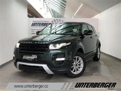 gebraucht Land Rover Range Rover evoque Dynamic 2,2 SD4 Aut. SUV / Geländewagen,