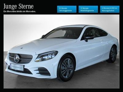 gebraucht Mercedes C200 Coupe Aut. *AMG-Line*Night-Paket*Comand*LED*Keyles