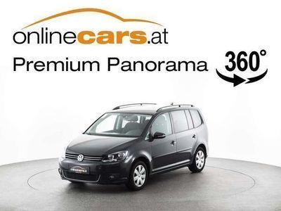 gebraucht VW Touran Comfortl. 1,6 TDI DSG NAVI MEGAPREIS Kombi / Family Van,