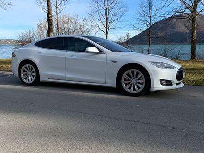 gebraucht Tesla Model S P85D Limousine