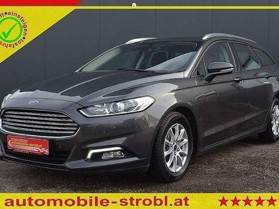 gebraucht Ford Mondeo Traveller Busin. 2,0 TDCi Aut.!Livestrea... Kombi / Family Van