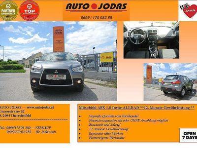 brugt Mitsubishi ASX 1,8 DI-D LP Invite **12. Monate Gewährleistung** SUV / Geländewagen,