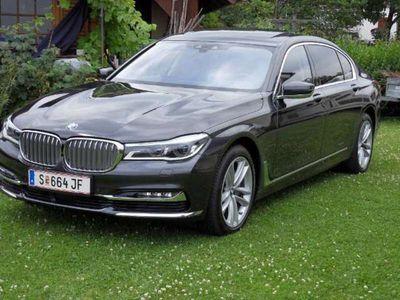 gebraucht BMW 730L d xDrive Aut NP 142000.-*LANGVERSION* VOLL*LASER*