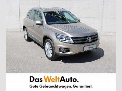 gebraucht VW Tiguan Track & Style TDI BMT 4MOTION DSG