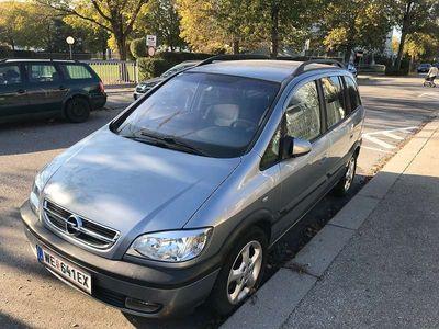 brugt Opel Zafira Sportsline 2,0 16V DTI Kombi / Family Van,
