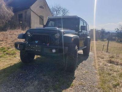 gebraucht Jeep Wrangler Unlimited JK Moab Sondermodell Automatik SUV / Geländewagen