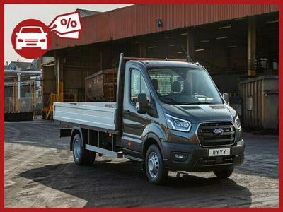 gebraucht Ford Transit Pritsche DoKa 2,0 EcoBlue MHEV L3H1 350 Trend | STAHL W22