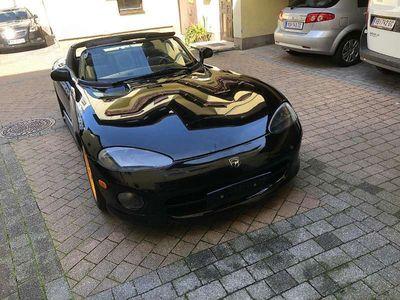 gebraucht Dodge Viper RT/10 - ein Traum in Schwarz Cabrio / Roadster