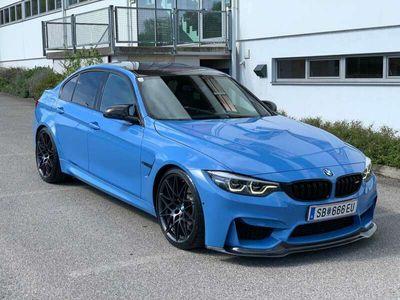 gebraucht BMW M3 M-DKG Aut. (F80) COMPETITION LCI2 Yas Marina Blau