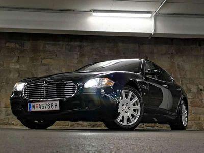 gebraucht Maserati Quattroporte 400Ps Luxus sportwagen Limousine