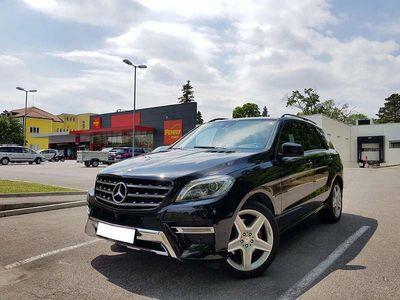 gebraucht Mercedes 350 M-KlasseCDI, AMG Ausstattung, 360 Kamera, Luftfederung SUV / Geländewagen
