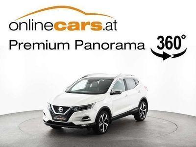 gebraucht Nissan Qashqai 1,5 DCI LED SKY 360-KAMERA LEDER NAVI SUV / Geländewagen,