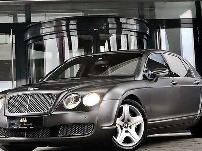 gebraucht Bentley Continental Flying Spur 6.0 W12 Bi-TURBO 560PS * 4 SITZER * REAR SEAT ENTERTAINMENT * TRAUMSCHIFF auf RÄDER * TOP - ZUSTAND ! Limousine