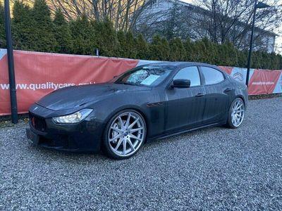 gebraucht Maserati Ghibli Diesel F1-Schaltwippen Ledersitze etc.