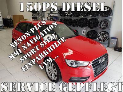 gebraucht Audi A3 Sportback Ambition 2,0 TDI DPF XENON NAVI PDC Sportsitze