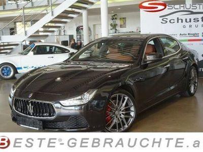 gebraucht Maserati Ghibli 3.0 V6 SQ4 Fahrassistenz-Paket Pakete: Lux