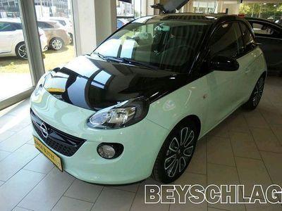 gebraucht Opel Adam 1,2 Black Jack Limousine,