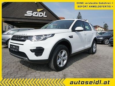 brugt Land Rover Discovery Sport 2,0 SD4 4WD SE Aut. *NAVI*