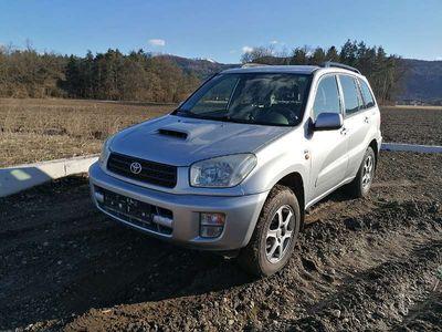 gebraucht Toyota RAV4 2.0 D4D 4WD BITTE INSERAT LESEN SUV / Geländewagen