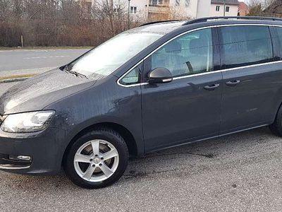 gebraucht VW Sharan 2.0 TDI Carat Kombi / Family Van