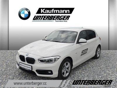 used BMW 118 1er-Reihe d Sport Line Aut. Limousine,