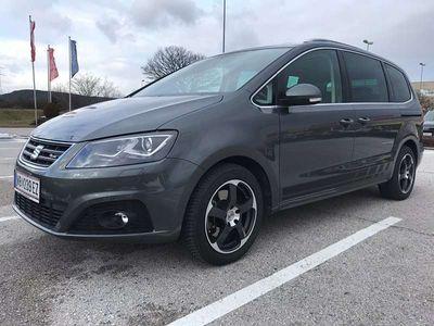 gebraucht Seat Alhambra FR 2,0 TDI CR DSG Kombi / Family Van,