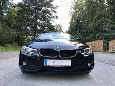 gebraucht BMW 420 4er-Reihe d Cabrio Automatik Sport Line Cabrio / Roadster