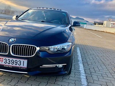gebraucht BMW 320 3er-Reihe d Luxury EfficientDynamics Paket Limousine