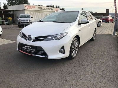 gebraucht Toyota Auris TS 1,8 VVT-i Hybrid Lounge Glasdach/AHV Kombi / Family Van