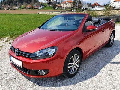 gebraucht VW Golf Cabriolet Cabrio Rabbit 2012 BMT 1,2 TSI