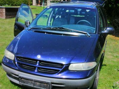 gebraucht Chrysler Voyager 2,5 Liter Turbo Diesel Kombi / Family Van